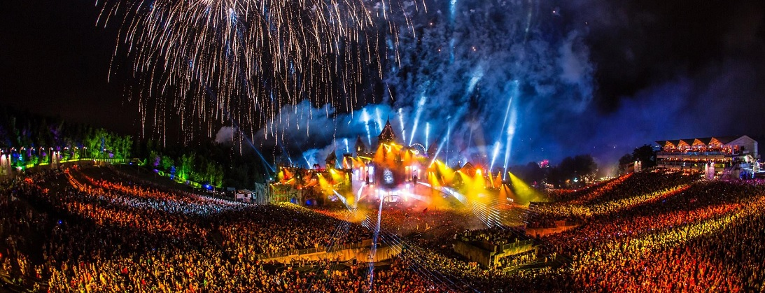 festivals edm tomorrowland