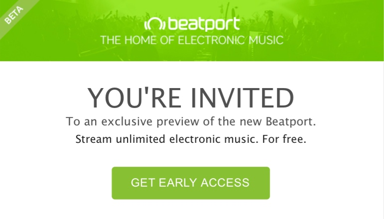 test beatport streaming