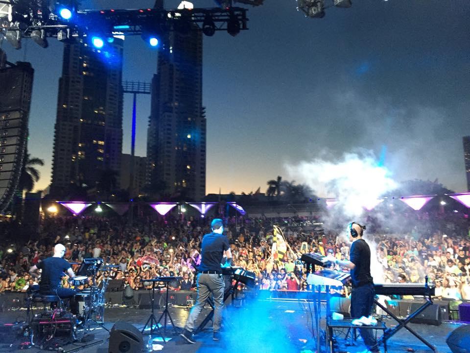 netsky live ultra music festival 2015