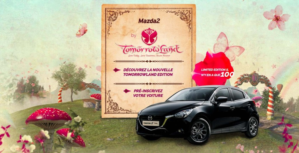 voiture tomorrowland mazda