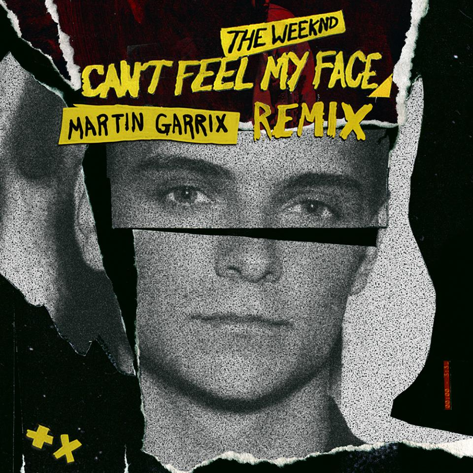 cant feel my face martin garrix remix