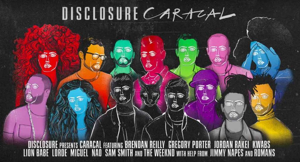 disclosure album caracal preview