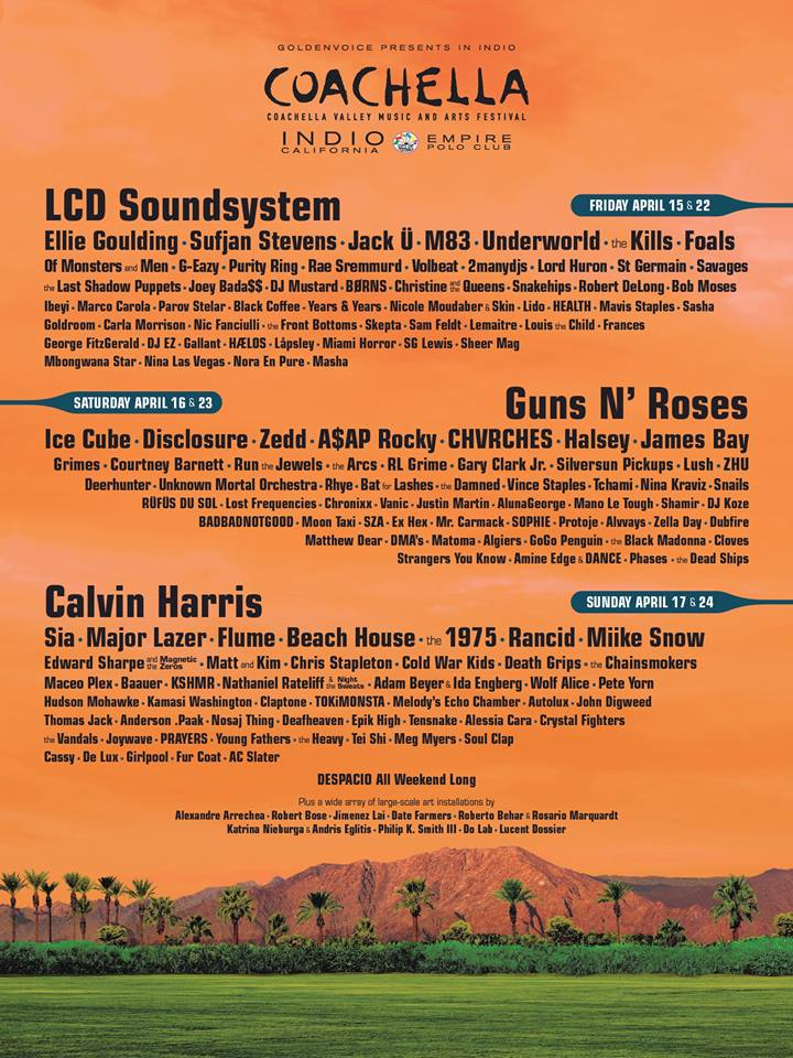 line up coachella 2016 avril