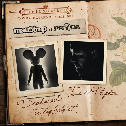 mau5trap vs pryda tomorrowland 2016