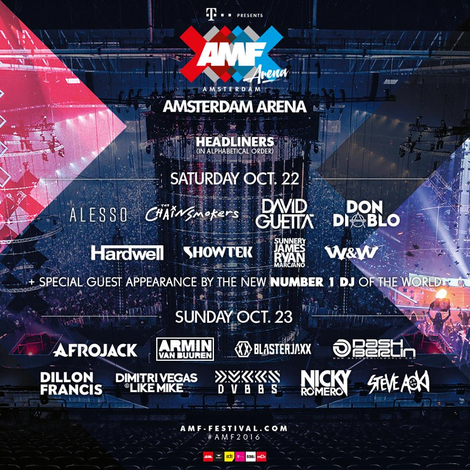 amf festival 2016 amsterdam line up