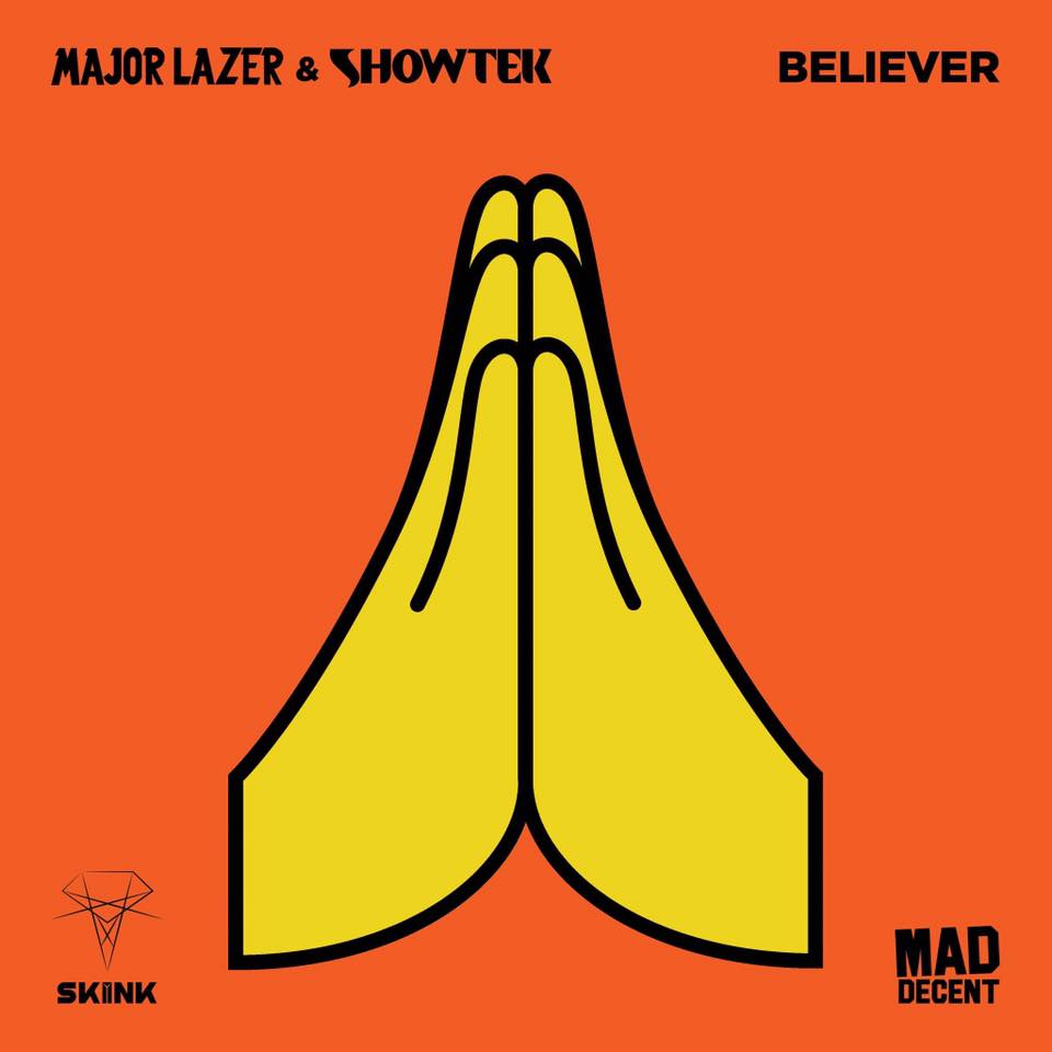 major lazer showtek believer mad decent skink
