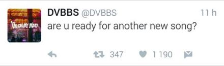 dvbbs-new-song